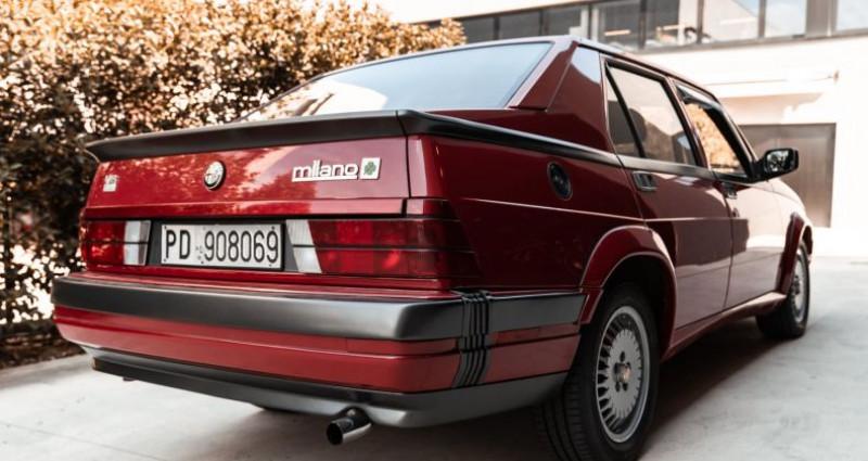 Alfa romeo 75 3000 V6 AMERICA Rouge occasion à Reggio Emilia - photo n°3