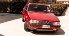 Alfa romeo 75 3000 V6 AMERICA Rouge à Reggio Emilia 42