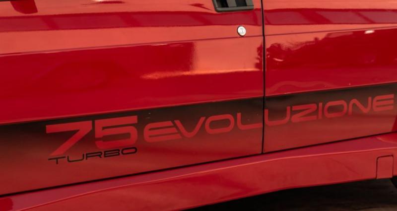 Alfa romeo 75 ALFA ROMEO 75 EVOLUZIONE Rouge occasion à Reggio Emilia - photo n°5