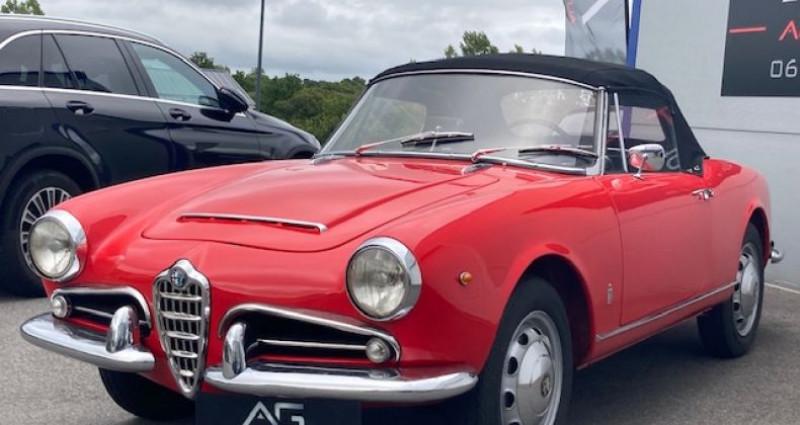 Alfa romeo Giulia 1600 SPIDER  occasion à CRAC'H - photo n°2