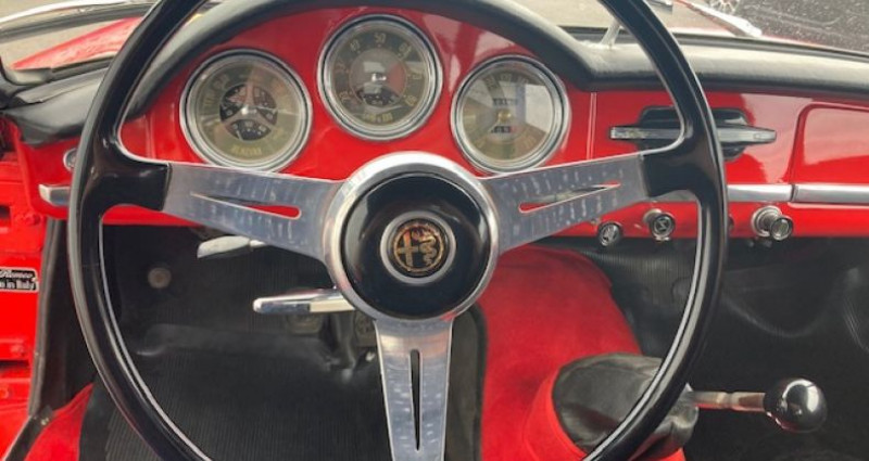 Alfa romeo Giulia 1600 SPIDER  occasion à CRAC'H - photo n°5