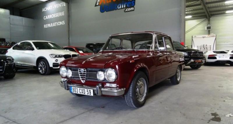 Alfa romeo Giulia 1600 SUPER 105.26 Bordeaux occasion à SECLIN
