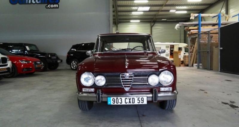 Alfa romeo Giulia 1600 SUPER 105.26 Bordeaux occasion à SECLIN - photo n°4