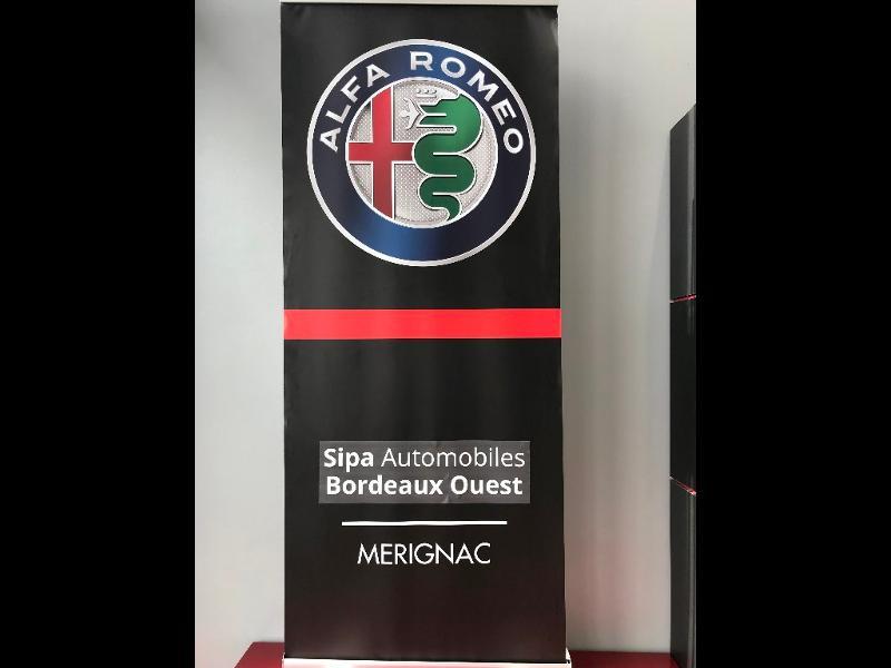 Alfa romeo Giulia 2.0 TB 200ch Super AT8 MY19 12cv Gris occasion à Mérignac - photo n°20
