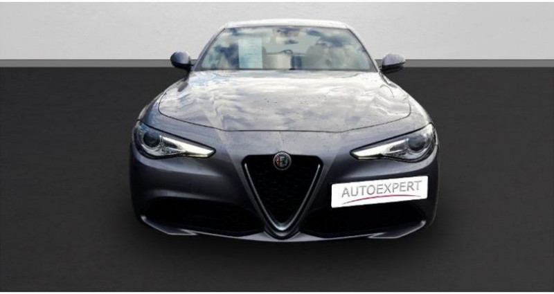 Alfa romeo Giulia 2.2 JTD 150ch Super Gris occasion à SAINT OUEN L'AUMONE - photo n°3