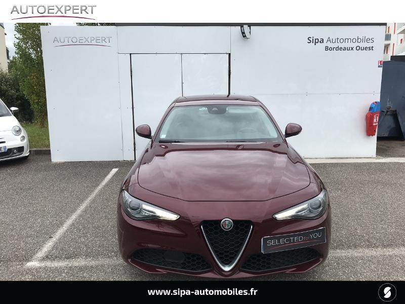 Alfa romeo Giulia 2.2 JTD 150ch Super Rouge occasion à Mérignac - photo n°8