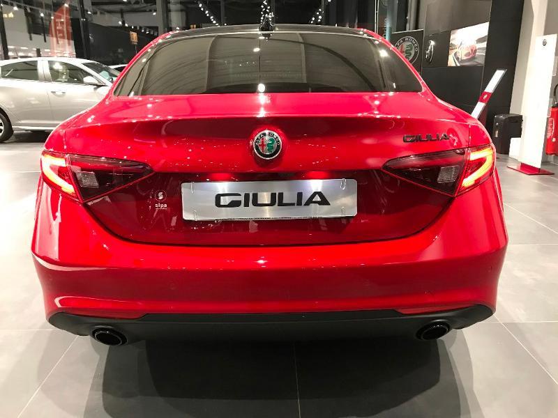 Alfa romeo Giulia 2.2 JTD 160ch Sprint AT8 MY20 Rouge occasion à Mérignac - photo n°3