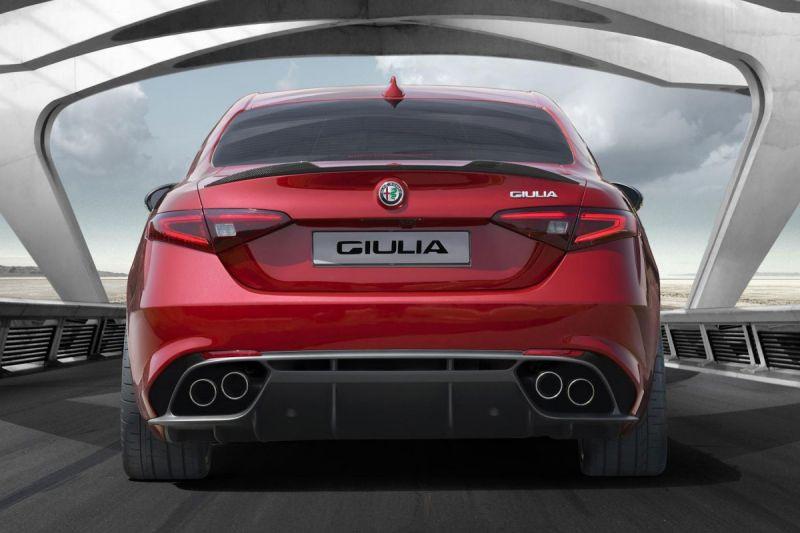 Alfa romeo Giulia 2.9 V6 510 AT Quadriofoglio  occasion à Beaupuy - photo n°2