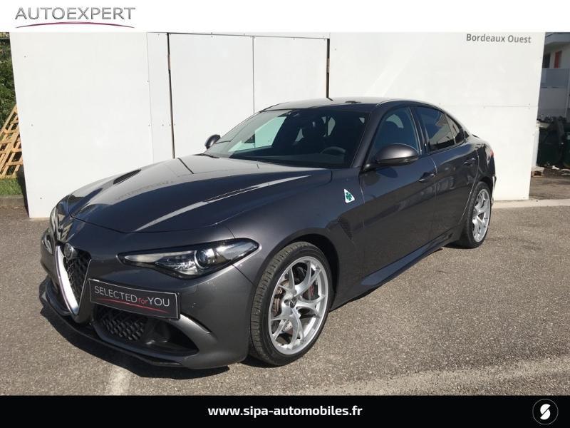 Alfa romeo Giulia 2.9 V6 510ch Quadrifoglio AT8 Gris occasion à Mérignac