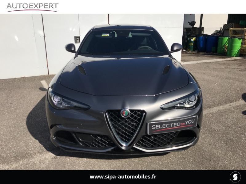 Alfa romeo Giulia 2.9 V6 510ch Quadrifoglio AT8 Gris occasion à Mérignac - photo n°8