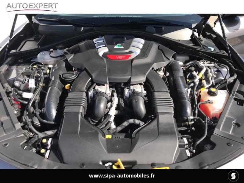 Alfa romeo Giulia 2.9 V6 510ch Quadrifoglio AT8 Gris occasion à Mérignac - photo n°13