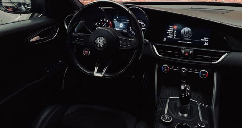 Alfa romeo Giulia Quadrifolglio 2.9 V6 510 cv - 1ERE MAIN  occasion à Taverny - photo n°4