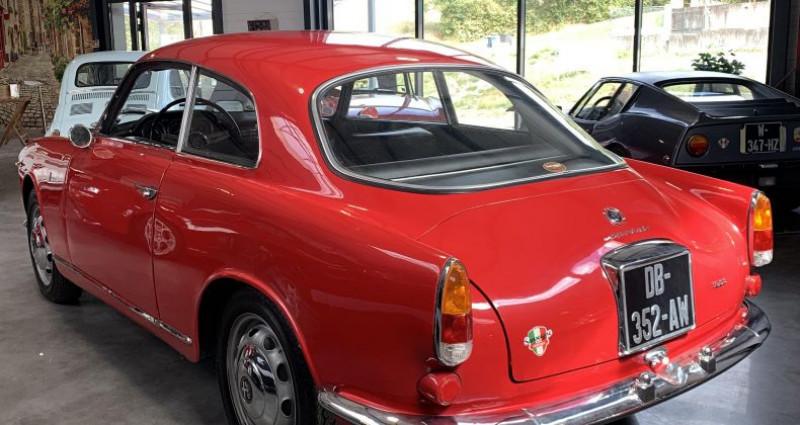 Alfa romeo Giulia SPRINT 1600 Rouge occasion à SALINS-LES-BAINS - photo n°2