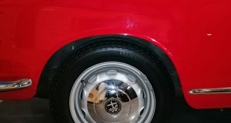 Alfa romeo Giulia SPRINT 1600 Rouge occasion à SALINS-LES-BAINS - photo n°4