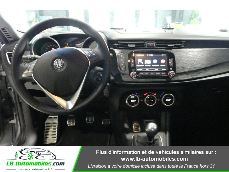 Alfa romeo Giullietta 1.4 TB MULTIAIR 150 S/S SUPER Gris occasion à Beaupuy - photo n°2