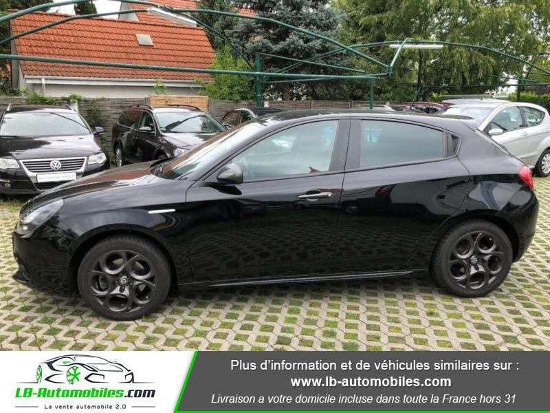 Alfa romeo Giullietta 1.4 TB MultiAir 150ch Noir occasion à Beaupuy - photo n°2