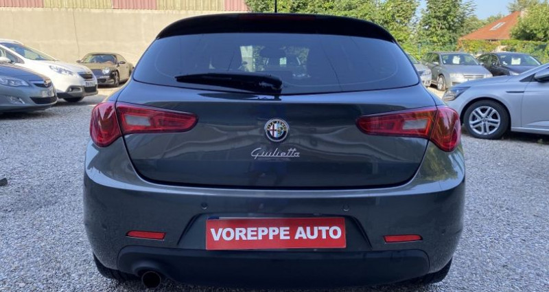 Alfa romeo Giullietta 1.4 TB MULTIAIR 170CH EXCLUSIVE STOP&START TCT Gris occasion à VOREPPE - photo n°5