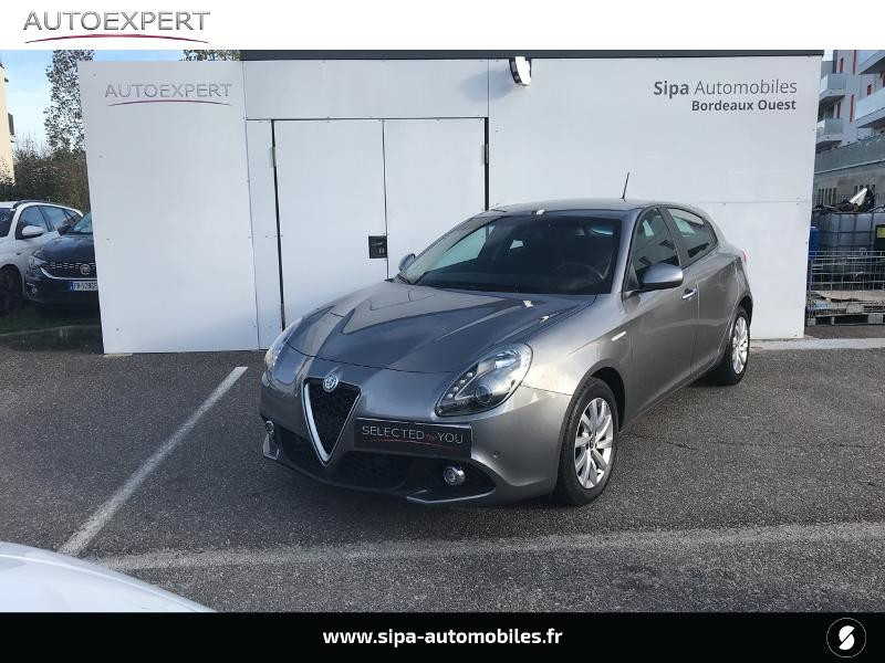 Alfa romeo Giullietta 1.6 JTDm 120ch Business Stop&Start TCT Gris occasion à Mérignac