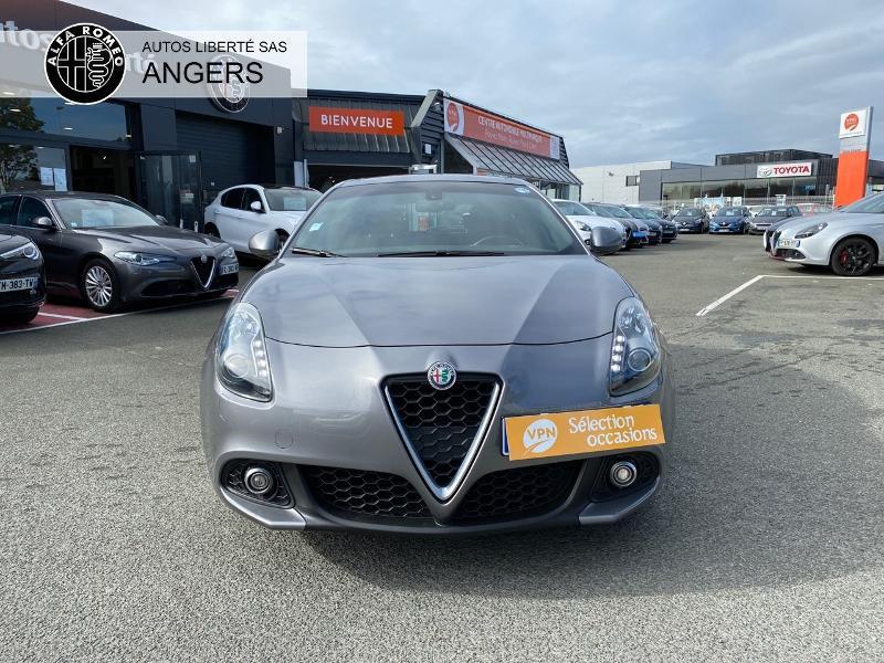 Alfa romeo Giullietta 1.6 JTDm 120ch Distinctive Business Stop&Start Gris occasion à Angers - photo n°7