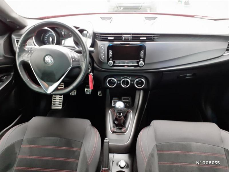 Alfa romeo Giullietta 1.6 JTDm 120ch Sport Edition Stop&Start Rouge occasion à Saint-Just - photo n°10