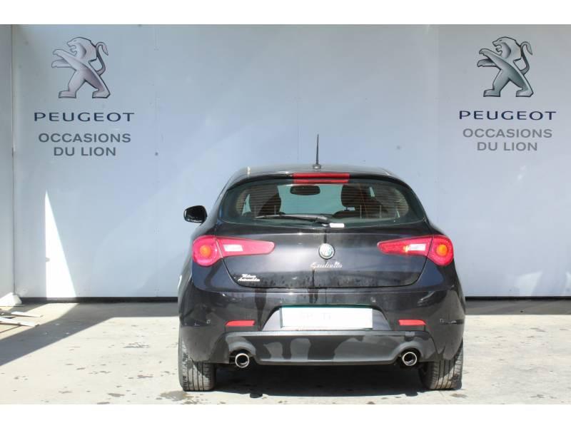 Alfa romeo Giullietta 2.0 JTDm 150 ch S&S Distinctive Noir occasion à Saint-Pierre-du-Mont - photo n°4