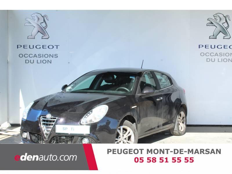 Alfa romeo Giullietta 2.0 JTDm 150 ch S&S Distinctive Noir occasion à Saint Pierre du Mont