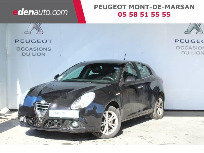 Alfa romeo Giullietta 2.0 JTDm 150 ch S&S Distinctive Noir occasion à Saint-Pierre-du-Mont