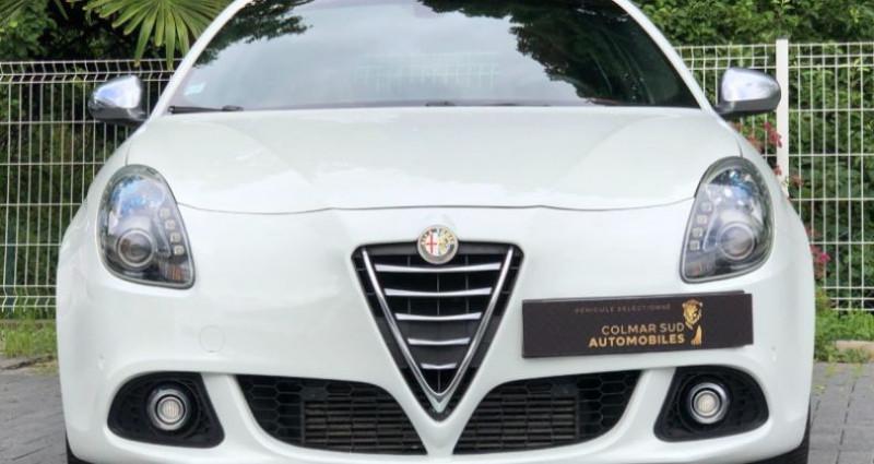 Alfa romeo Giullietta 2.0 JTDM 175CH EXCLUSIVE STOP&START TCT Blanc occasion à COLMAR - photo n°6