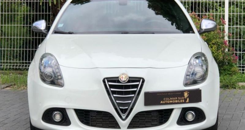 Alfa romeo Giullietta 2.0 JTDM 175CH EXCLUSIVE STOP&START TCT Blanc occasion à COLMAR - photo n°5