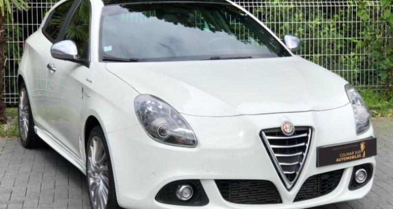 Alfa romeo Giullietta 2.0 JTDM 175CH EXCLUSIVE STOP&START TCT Blanc occasion à COLMAR