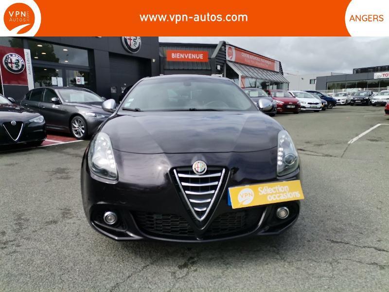 Alfa romeo Giullietta 2.0 JTDm 175ch Exclusive Stop&Start TCT Noir occasion à Angers - photo n°7