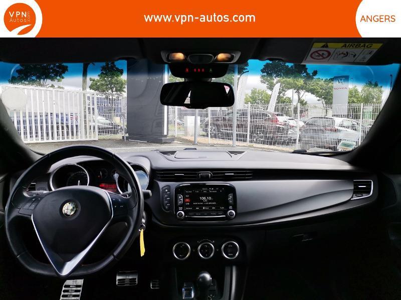 Alfa romeo Giullietta 2.0 JTDm 175ch Exclusive Stop&Start TCT Noir occasion à Angers - photo n°3