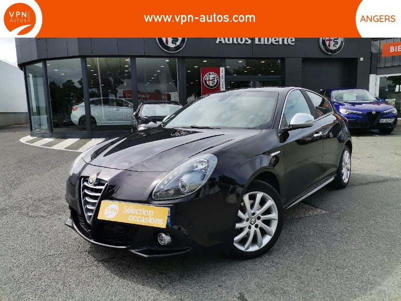 Alfa romeo Giullietta 2.0 JTDm 175ch Exclusive Stop&Start TCT Noir occasion à Angers
