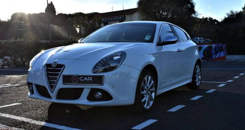Alfa romeo Giullietta Exclusive 2.0 150 Ch ! GARANTIE Blanc occasion à ANTIBES