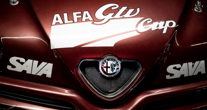 Alfa romeo GTV 2.0 V6 Turbo Cup Replica Rouge occasion à Reggio Emilia - photo n°4