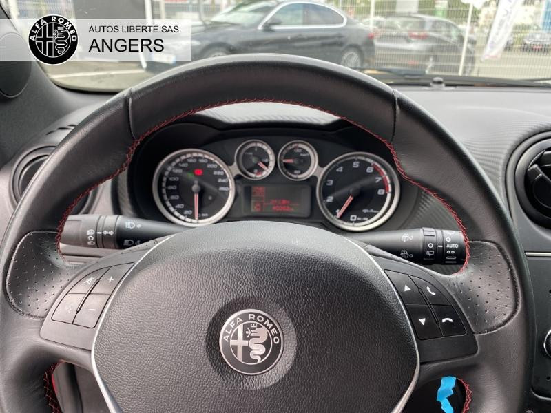 Alfa romeo Mito 0.9 Twin Air 105ch Imola MY18 Stop&Start Rouge occasion à Angers - photo n°17