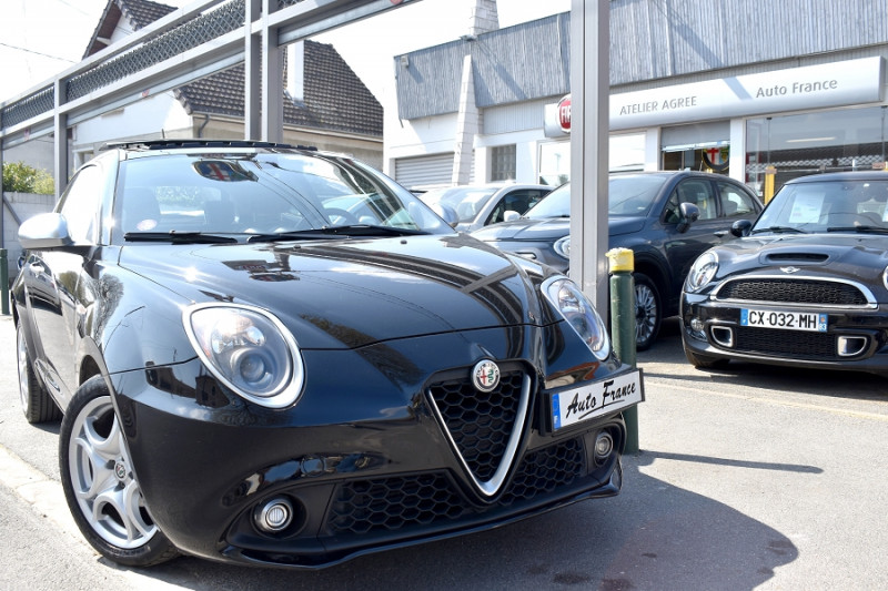 Alfa romeo Mito 0.9 TWIN AIR 105CH LUSSO STOP&START Noir occasion à Neuilly-sur-Marne - photo n°3