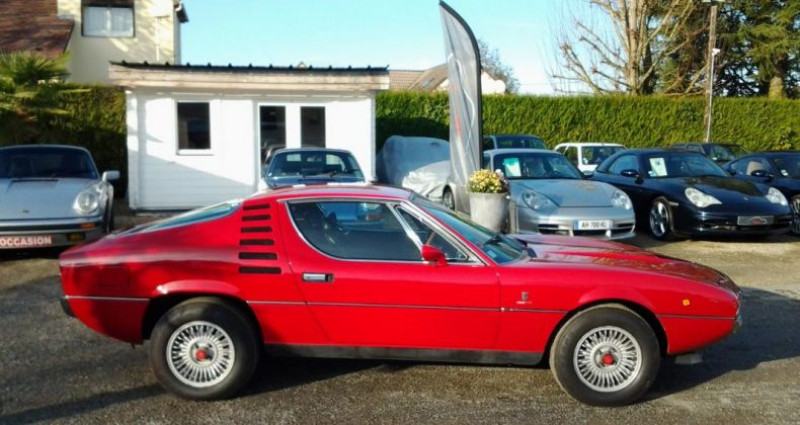 Alfa romeo Montreal COUPE Rouge occasion à Charpont - photo n°6