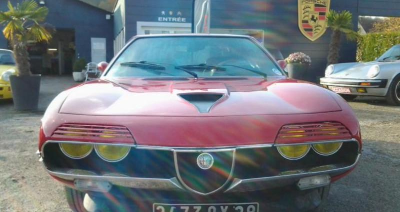 Alfa romeo Montreal COUPE Rouge occasion à Charpont - photo n°2