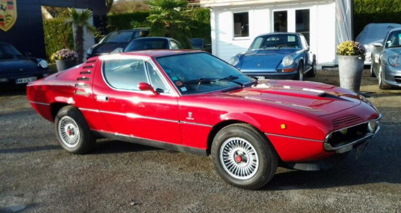 Alfa romeo Montreal COUPE Rouge occasion à Charpont