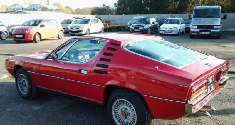 Alfa romeo Montreal COUPE Rouge occasion à Charpont - photo n°4