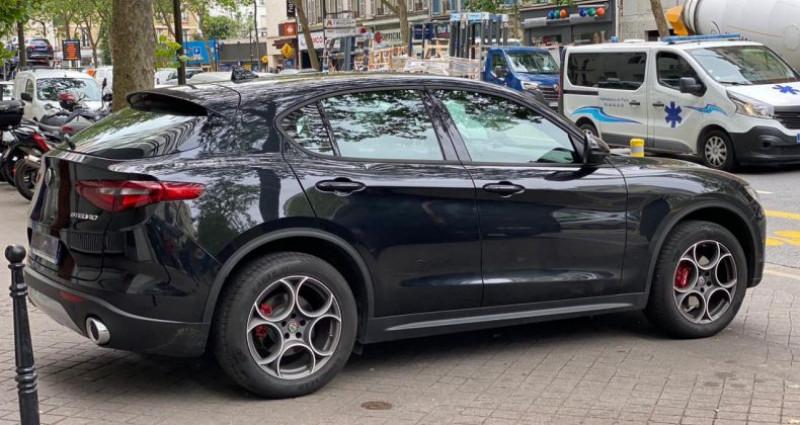 Alfa romeo Stelvio 2.0 TURBO 280 Q4 Noir occasion à Boulogne-Billancourt - photo n°7