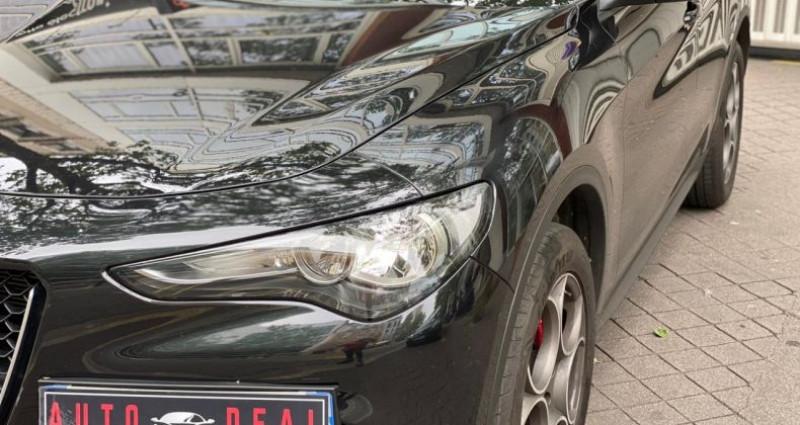 Alfa romeo Stelvio 2.0 TURBO 280 Q4 Noir occasion à Boulogne-Billancourt - photo n°4