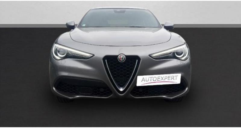 Alfa romeo Stelvio 2.0T 280ch Sport Edition Q4 AT8 Gris occasion à SAINT OUEN L'AUMONE - photo n°3