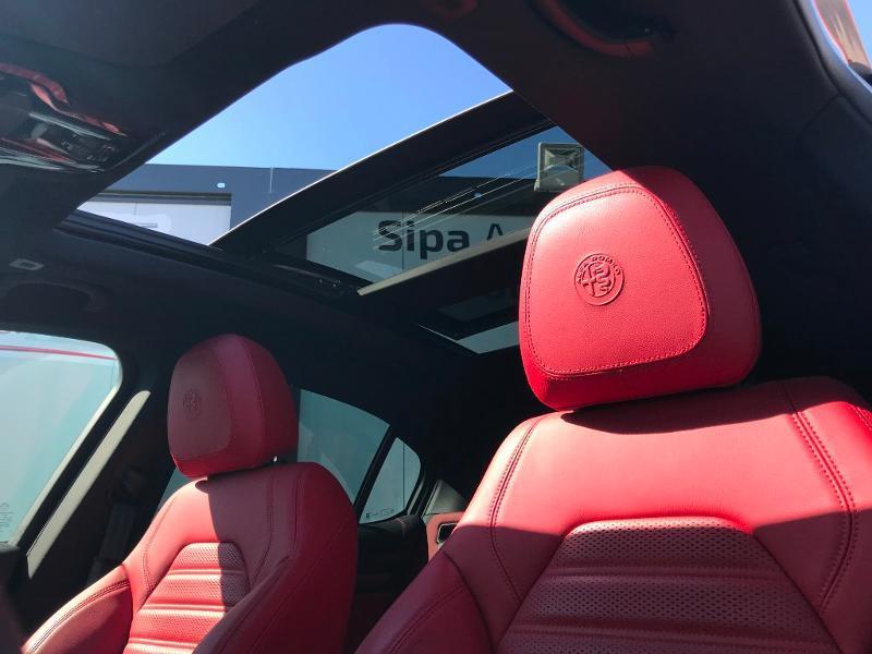 Alfa romeo Stelvio 2.0T 280ch Turismo Q4 AT8 MY19 Gris occasion à Toulouse - photo n°9