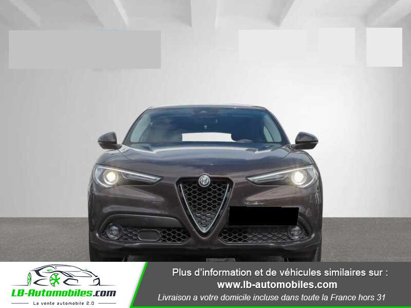 Alfa romeo Stelvio 2.2 180 ch AT8 Marron occasion à Beaupuy - photo n°4