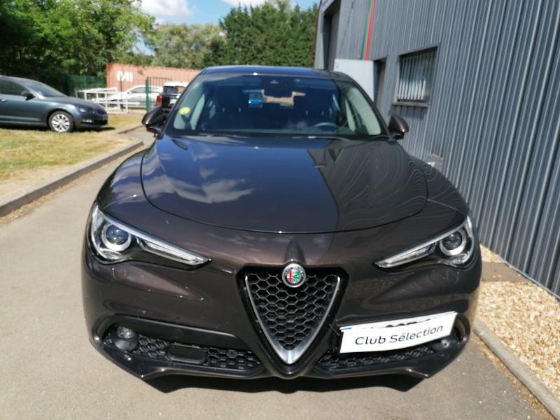 Alfa romeo Stelvio 2.2 Diesel 150ch Super AT8 Marron occasion à Saint-Doulchard - photo n°3