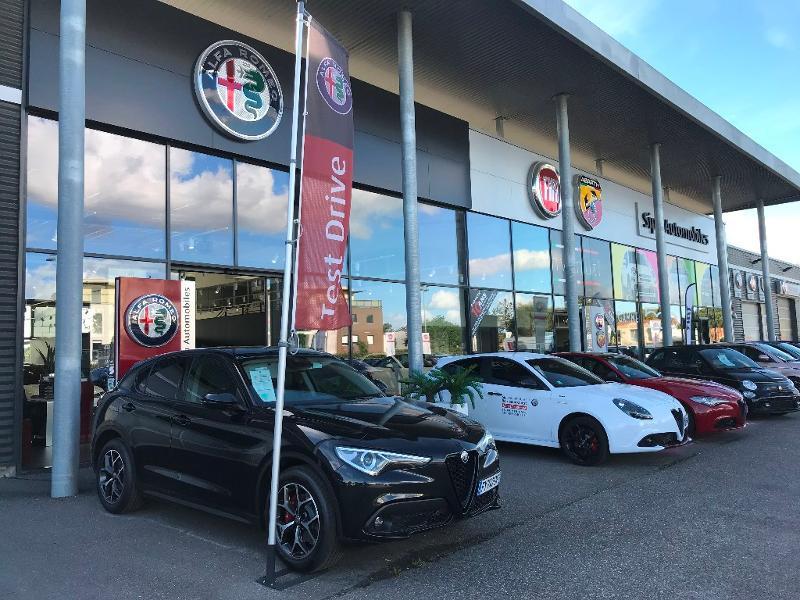 Alfa romeo Stelvio 2.2 Diesel 160ch Super AT8 MY21 Blanc occasion à Mérignac - photo n°18