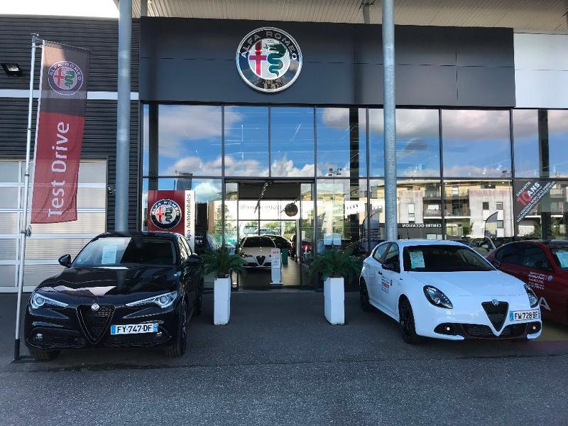 Alfa romeo Stelvio 2.2 Diesel 160ch Super AT8 MY21 Blanc occasion à Mérignac - photo n°16