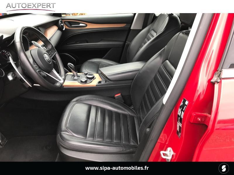 Alfa romeo Stelvio 2.2 Diesel 180ch Lusso AT8 Rouge occasion à Mérignac - photo n°4